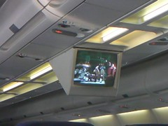 How I Met Your Mother playing on Philippines Airlines (This World Rocks) Tags: trip vacation airplane video southeastasia philippines sanyo cbs elnido palawan waterproofcamera sanyoxacti airphilippines howimetyourmother sanyoxactivpce2 waterproofcamcorder