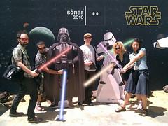Starwars in Sónar 2010 (CytecK) Tags: starwars sonar refsn