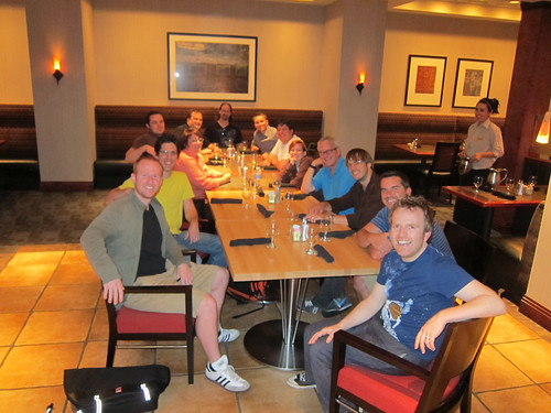 Designer/Developer Workflow Conference - Post-Conference Dinner
