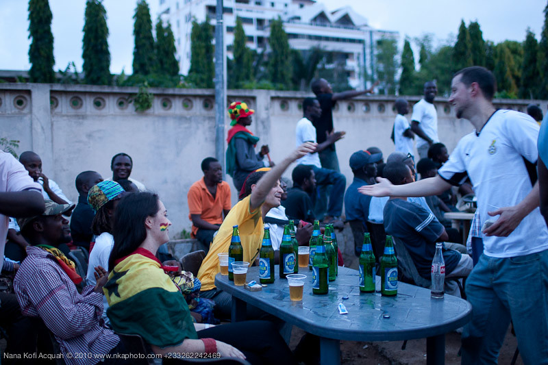 Ghana Vs Germany (Accra fans)