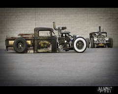 EM01441AL (alan57) Tags: cars photoshop truck diesel lasvegas rusty mater racing harley autos custom rods pinups dragracing ratrods carshows rodrun alan57 welderup dieselrod