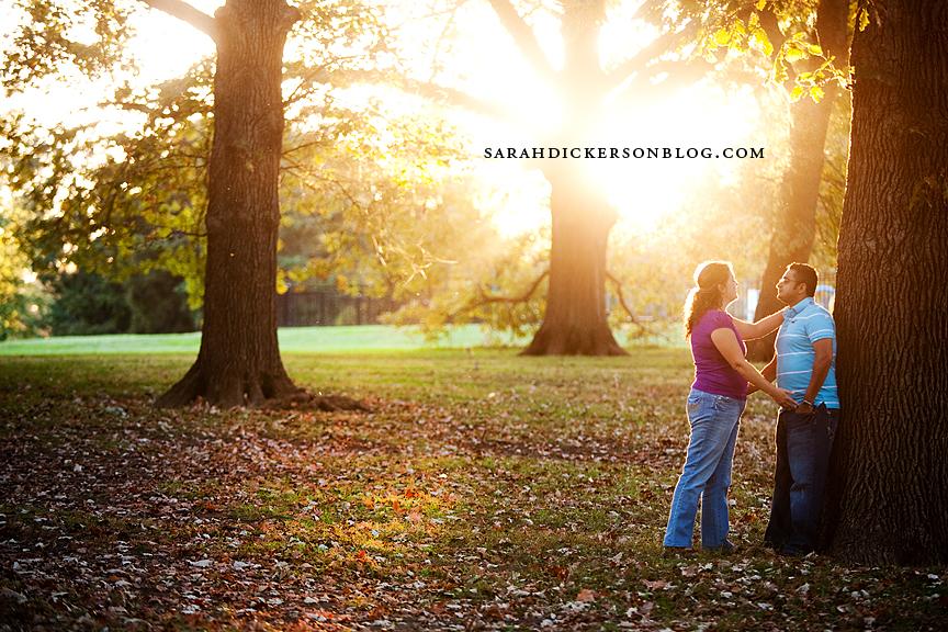 Loose Park engagement photographers
