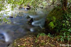 acqua lenta (Riketto) Tags: italy parco verde canon italia colore tripod campagna waterfalls albero acqua autunno montagna cascate calcata canonef2470f28l treppiedi montegelato 5dmarkii