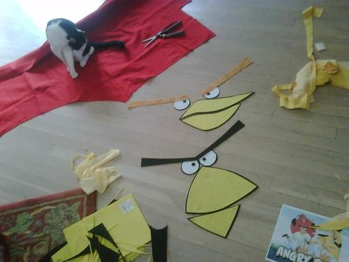 Angry Bird Craigslist Halloween | Robert Sandie