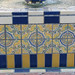 Tile on Fountain: Belltower Building Courtyard
