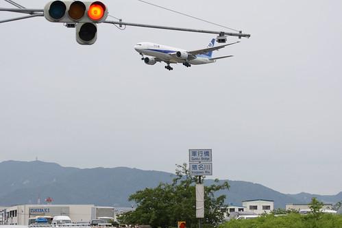 A signal and ANA's B777-200