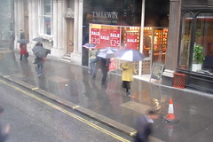 London in the rain #1