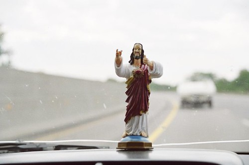 Dashboard Jesus by josephleenovak, on Flickr