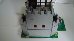 The harder section (remyth) Tags: tower castle lego knight crusader outpost mogash