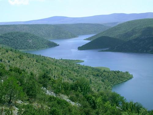 Krka Nemzeti Park folyó