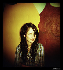 maria taylor (holga) (lolitanie) Tags: portrait girl yellow holga promo nice shot kodak folk flash pop press saddlecreek aalborg 1000fryd mariataylor lolitanie jmluneau lastfm:event=220319