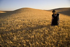 080307 (austinspace) Tags: sunset portrait woman field washington day dusk farm wheat daily explore cheney magichour goldenhour perday thankseverybody 110000 orsotheysay primitiveroad superbmasterpiece 110000views chercherlafemme