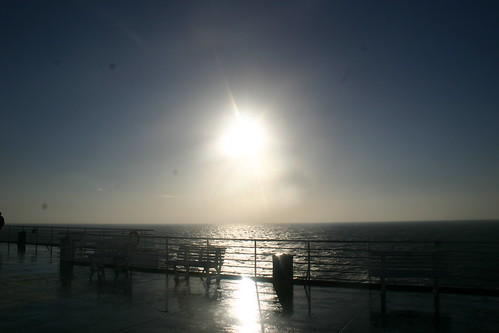 Sunrise from the Upper Deck of a Ferry 2