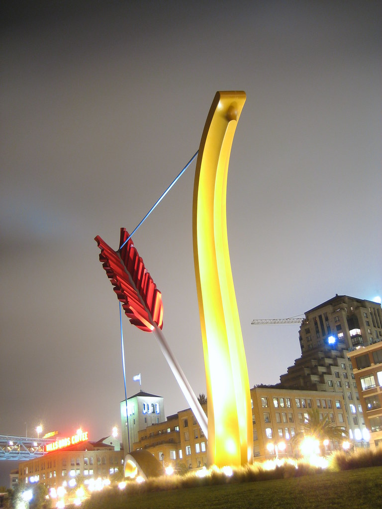 Cupid's Span, San Francisco Embarcadero