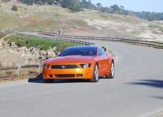 2007 Concept Giugiaro Mustang (Venom82) Tags: california ca italy orange ford beach car nice italian sweet fast pebble concept mustang concours 2007 stang giugiaro italdesign giorgetto concors delegance