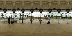 Waterfront Gazebo (gadl) Tags: panorama saintmartin waterfront 21 tripod gimp gazebo kiosque tiana 360° 360°x180° marigot hugin enblend equirectangular guno frontdemer 303sph