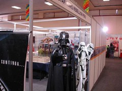 Vader cosplayer