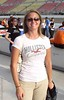 Lynne, wife of A.J. Allmendinger