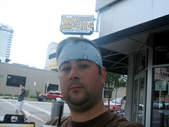Neal at Which Wich Austin