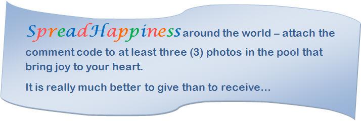 Spread Happiness around the world