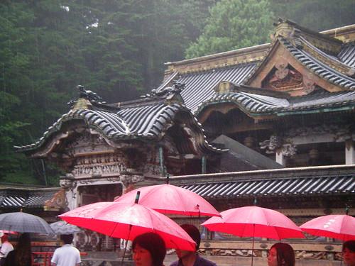 Nikko: rain and shrine