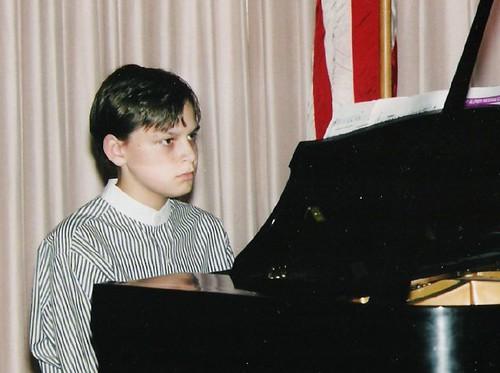 Max at Piano