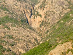 Le coup de sabre du canyon de I Sulleoni avec sa C70