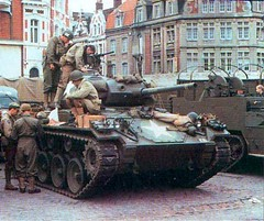 DMP-D612 US M-24 CHAFFEE (damopabe) Tags: world army us war tank wwii german m3 halftrack chaffee m24