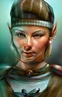 bg2 elf female