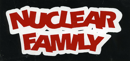 Nuclear Family sticker, 1996