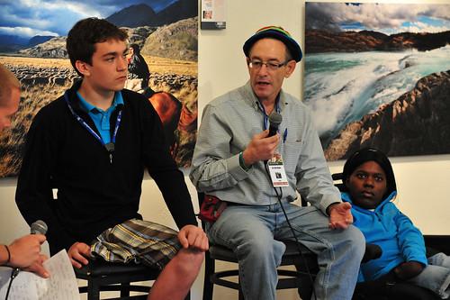 Nico Calabria, Dr. Rick Hodes & Prudence Mabhena