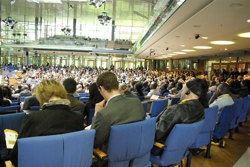 Public dans le Bundestag