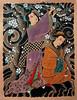 Geisha e sakura Tattoo Classic Oriental