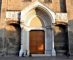 Portale della basilica di san Francesco, Bologna. (Melisenda2010) Tags: architettura chieseitaliane medioevo italia italy bellitalia portalebasilicasanfrancesco