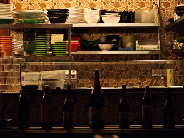 IMG_1058 打烊后的日本餐厅