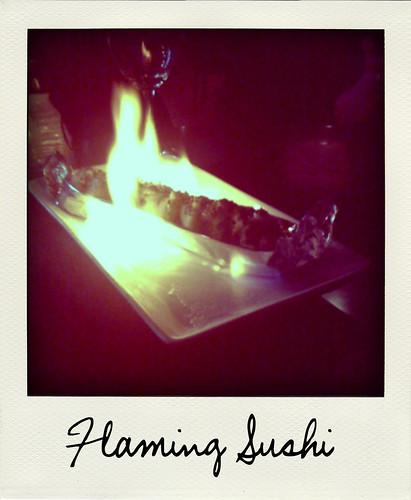 Flaming Sushi