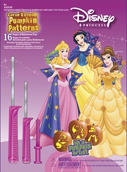 8 Older Princess Carving Patterns