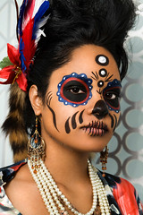 (Arianna Biasini) Tags: beauty dayofthedead makeup headshot diadelosmuertos beautyshot temnafialka westerncanadafashionweek cindyrice