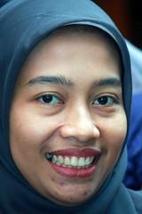 Indonesian woman (Mangiwau) Tags: ladies girls portrait woman hot girl face lady indonesia asian thirties women shots hijab middle ibu ages indonesian asean perempuan wanita cewek motret ibuibu
