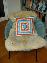 crochet cushions (elsy965) Tags: crochet pillow granny cushions