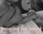 praying for avery