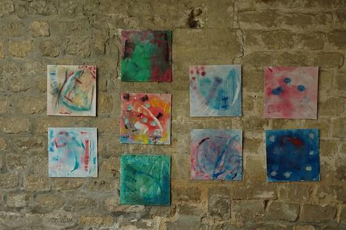photo031- les enfants d'Auvers sont de vrais artistes