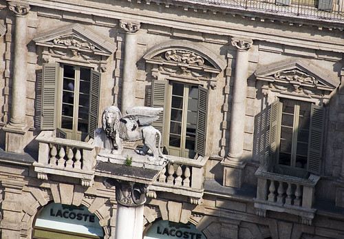 Colonna del Mercato, Verona, Italy