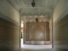 Marrakech  cooperative artisanale morroco (le meli melo de val) Tags: tile morroco marrakech zelig zellij artisanale cooperative
