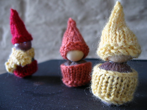 gumnut gnomes from korknisse pattern