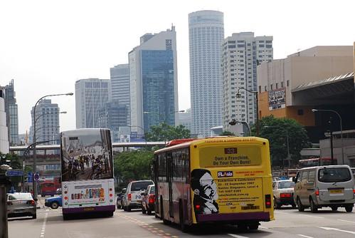 Bus in KL, Malaysia