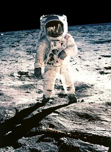 Buzz Aldrin Apollo 11 Moonwalk