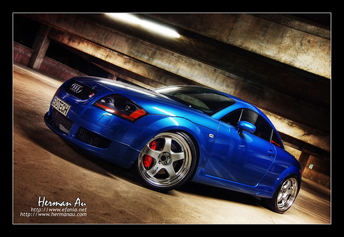Denim Blue Audi TT Coupe (by hermanau)
