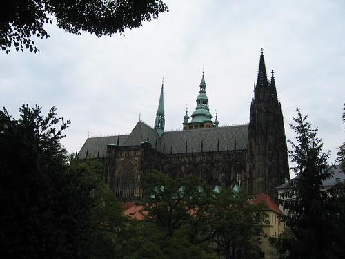 St Vitus' Cathedral at Prague Castle