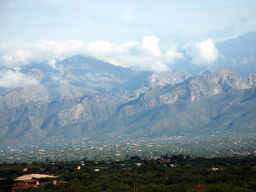 The foothills of the Catalina Mountains
